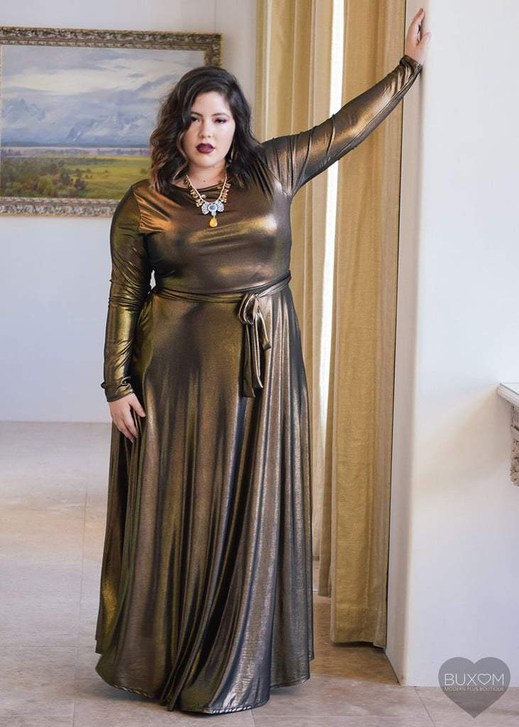 BRONZE AGE MAXI DRESS