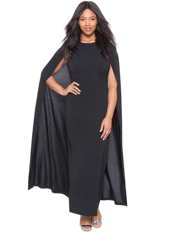 Eloquii Cape Maxi Dress