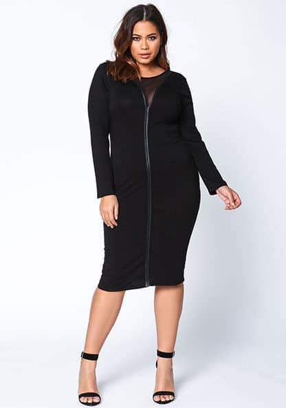 Glamorous Plus Size Holiday Dresses Under $50