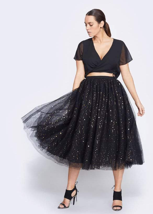 Fame & Partners Plus Collection- Starry Eyes Two Piece