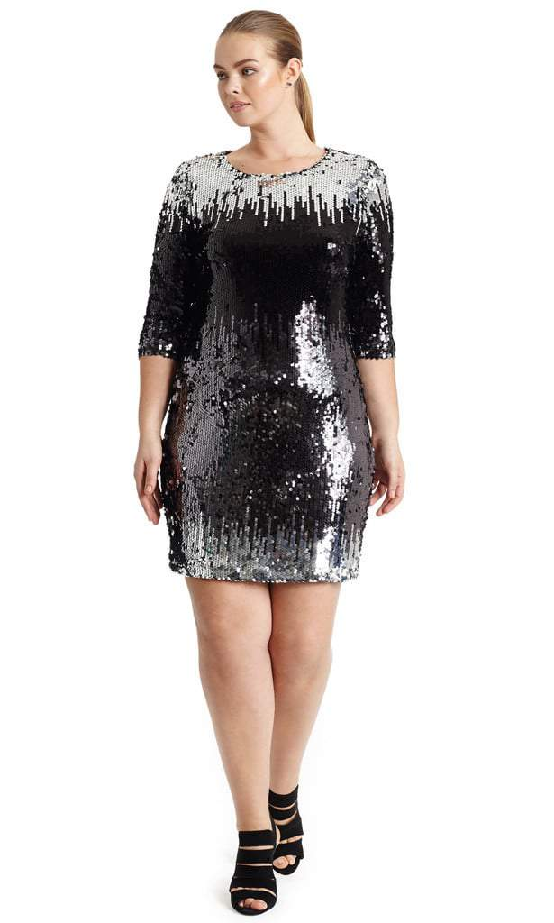 20 New Year's Eve Plus Size Dress Ideas on The Curvy Fashionista #TCFStyle