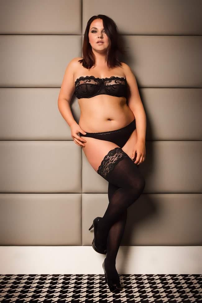 A Spotlight on Glamory Plus Size Hosiery | The Curvy