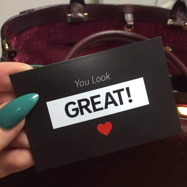 Navabi's you look great cards