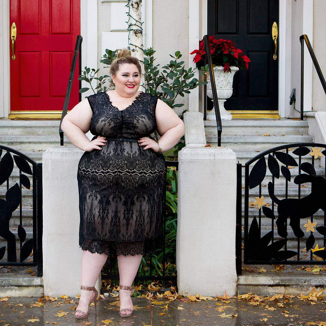 New Year's Eve Style Inspiration from a Few Petite Plus Size Bloggers
