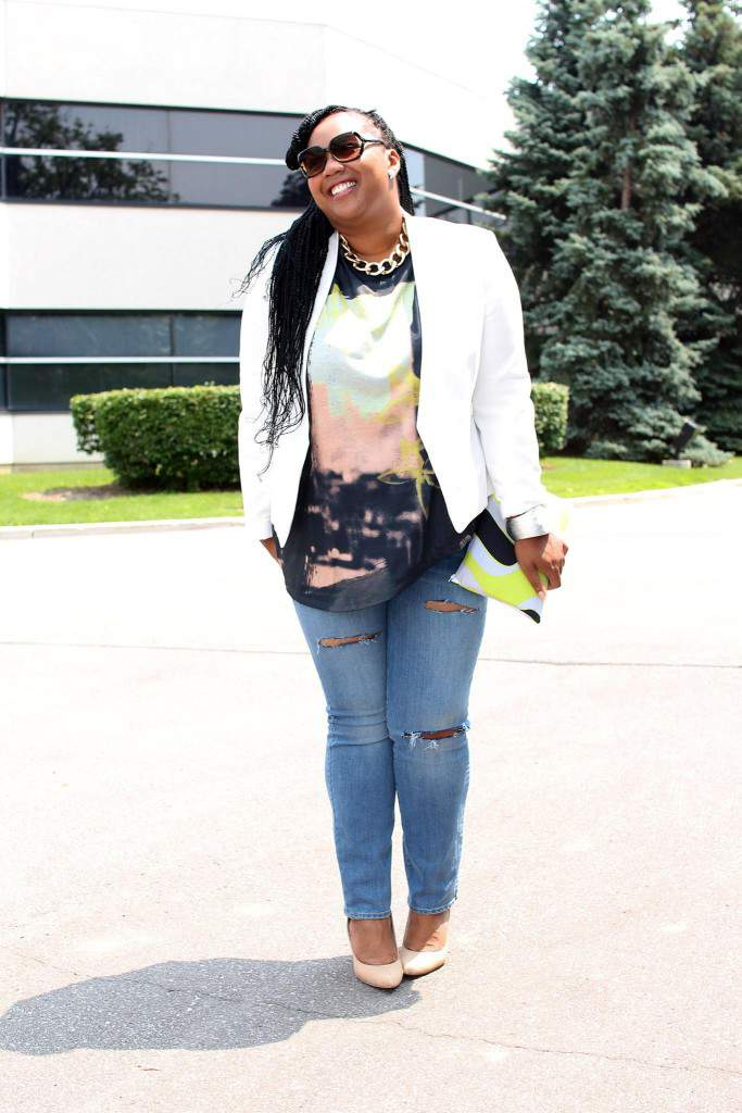 Plus Size Blogger Spotlight: The Stylish Reid