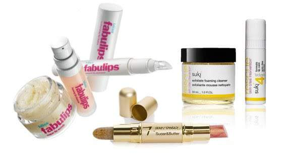 Lip Scrub + Balm Duos = This Season's Life Savers
