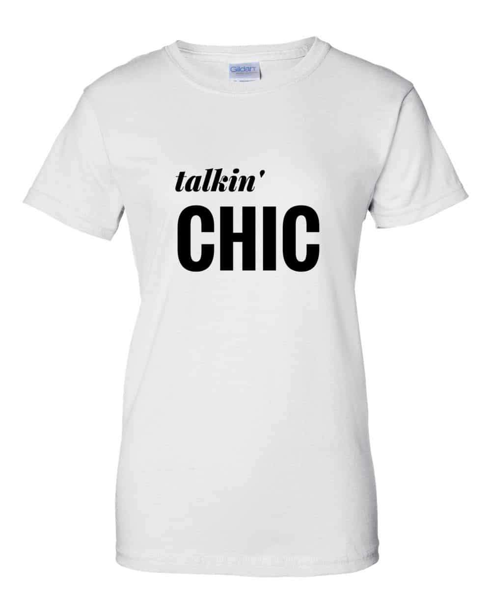 The Curvy Fashionista #ShopTCFStyle- Talkin Chic Tee