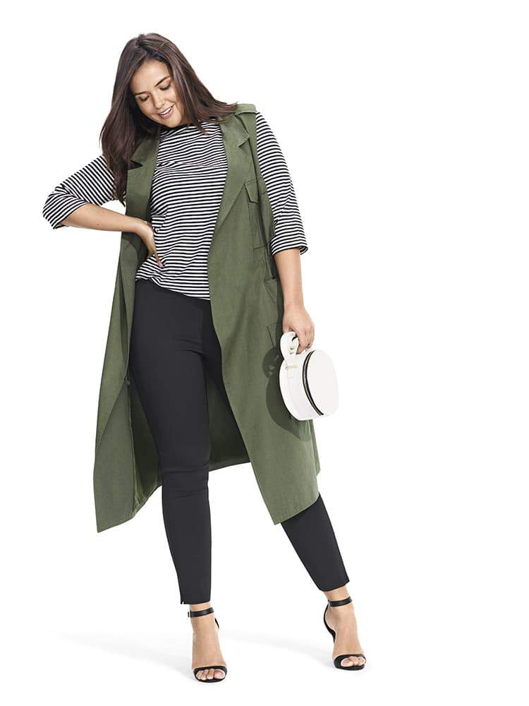 Who What Wear x Target Collection The Plus Size Looks Look 6)