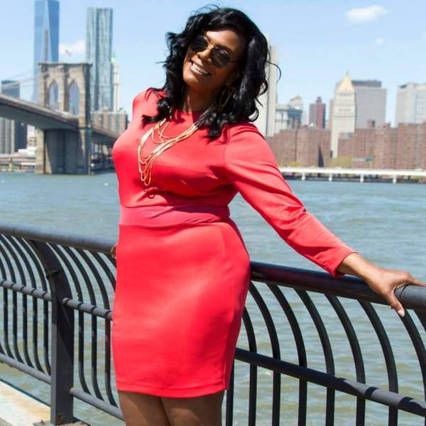 Creator of Full Figured Fashion Week, Gwen Devoe
