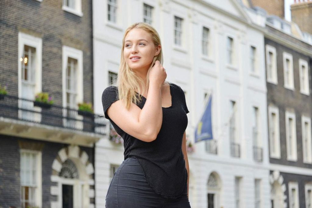 Iskra Lawrence, Editor in Chief of Runway Riot