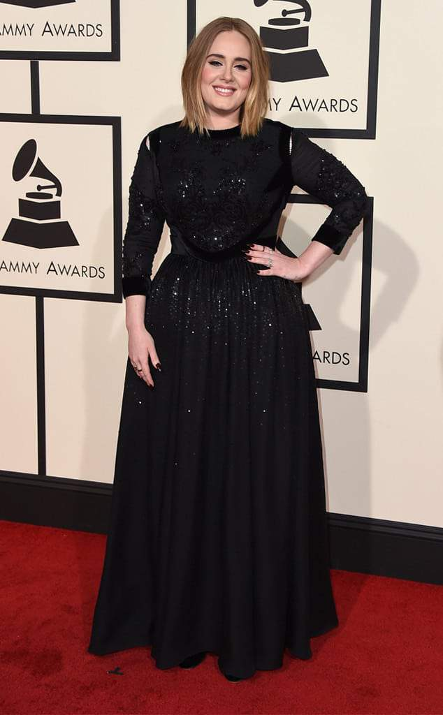Adele at the 58th Grammy Awards
