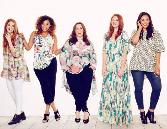 Melissa McCarthy Spring Collection 2016 on TheCurvyFashionista.com