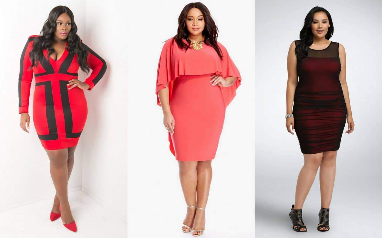 15 Must Rock Plus Size Dresses for that Valentine\'s Day Date!