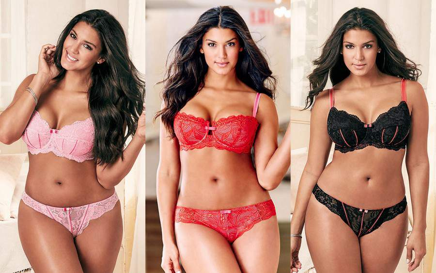 Adore Me Valentine's Day Plus Size Lingerie Lookbook