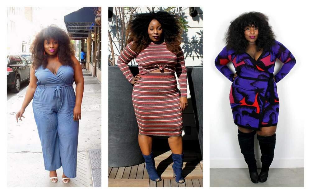 Plus Size Fashion Blogger Friday: Ivory of Ivory Jinelle