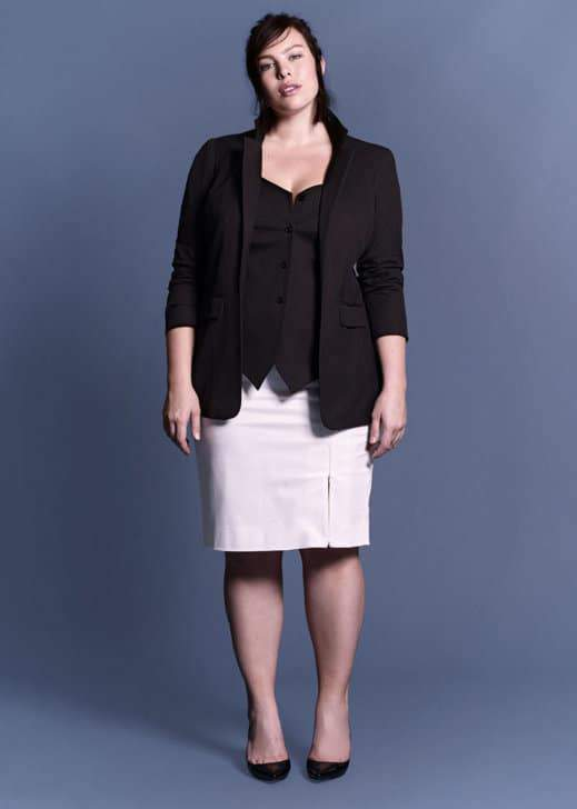 22 Chic and Polished Plus Size Suiting Finds on TheCurvyFashionista.com