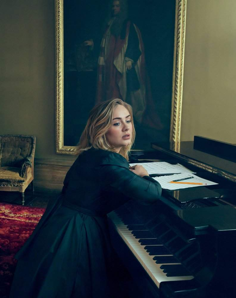 Adele Slays Her March Vogue Magazine Photoshoot and Cover