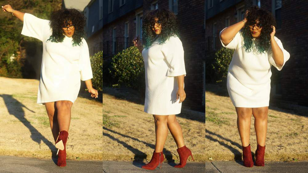 My Style: My love of Sweater Dresses and Booties
