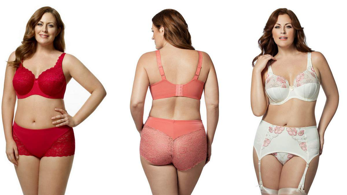 Full figured women lingerie