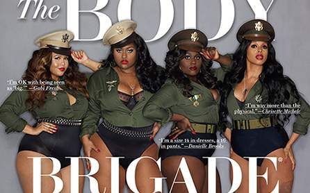 Ebony March Cover- The Body Brigade Issue