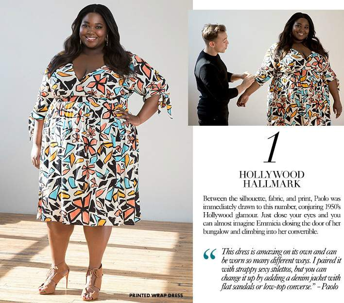 Spring Plus Size Fashion Tips with Empire's Stylist Paolo and Eloquii!