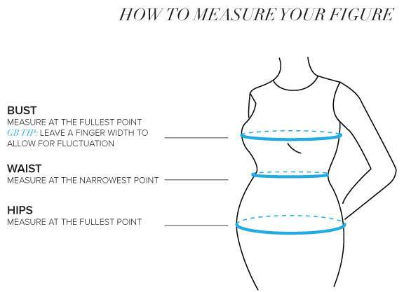 Gwynnie Bee's How to measure your shape