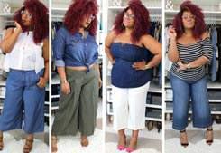 NEW VIDEO: Get Into These Plus Size Wide Leg Crops!