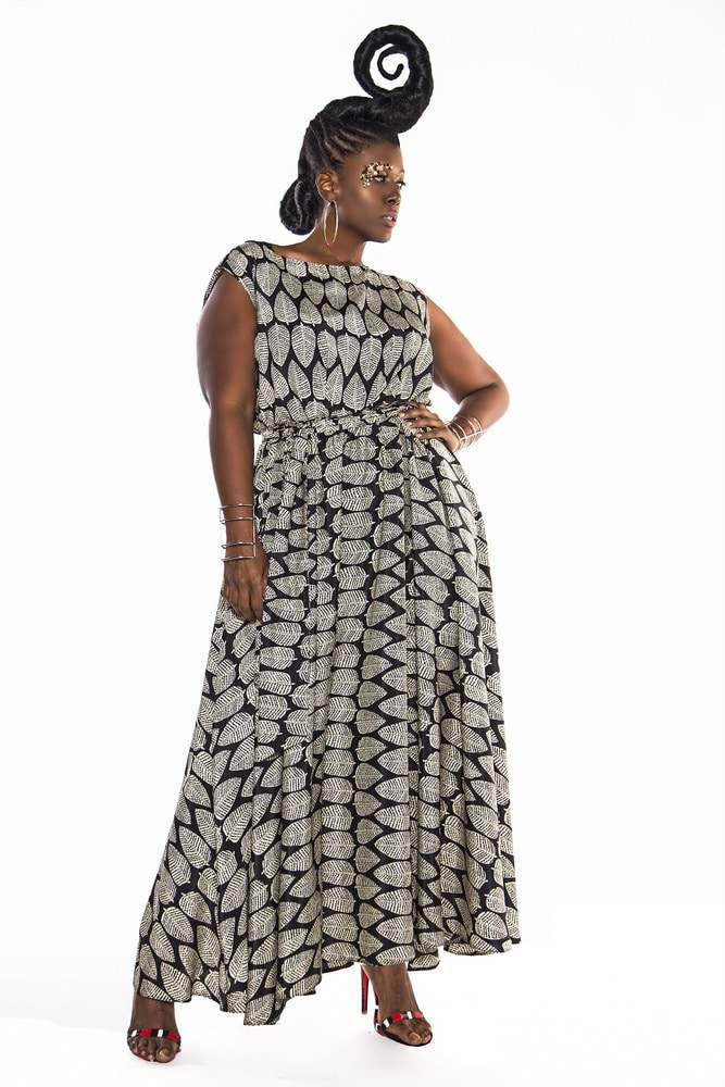 Plus Size Designer- Jibri Spring 2016 Collection on TheCurvyFashionista.com