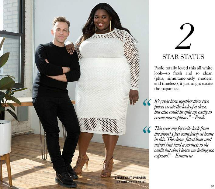 must read: spring plus size fashion tips with empire's stylist
