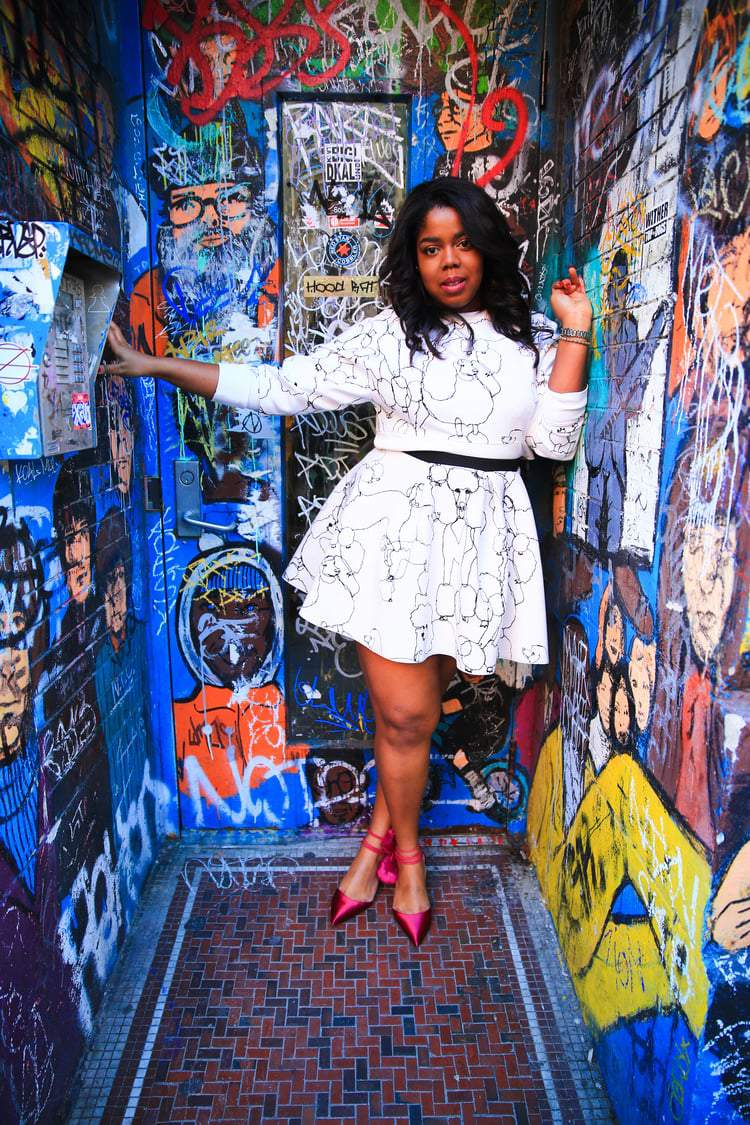 12 Plus Size Bloggers to Follow: That Hayet Riyda