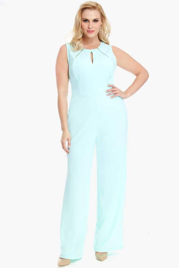 Sadie Zip Neck Jumpsuit
