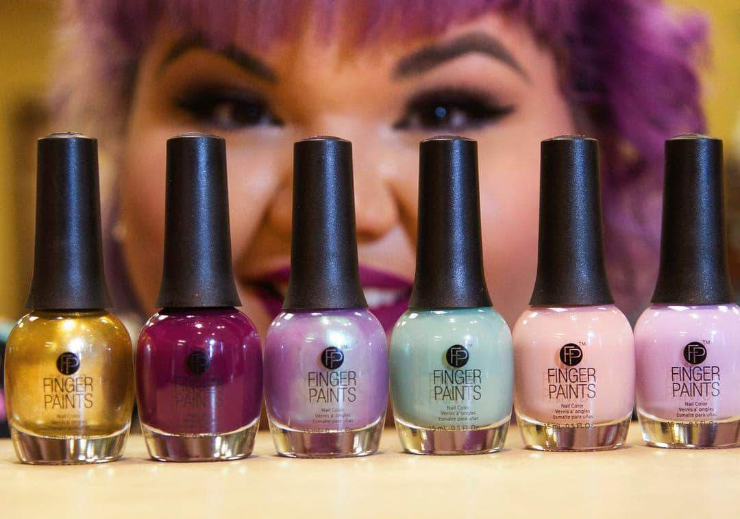 Ashley Nell Tipton Launches FingerPaints Project Runway Nail Polish Collection!