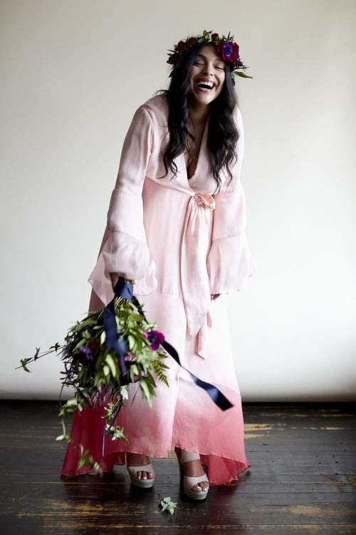 Boho Luxe Plus Size Bridal Dresses- Eloquii for Stone Fox Bride
