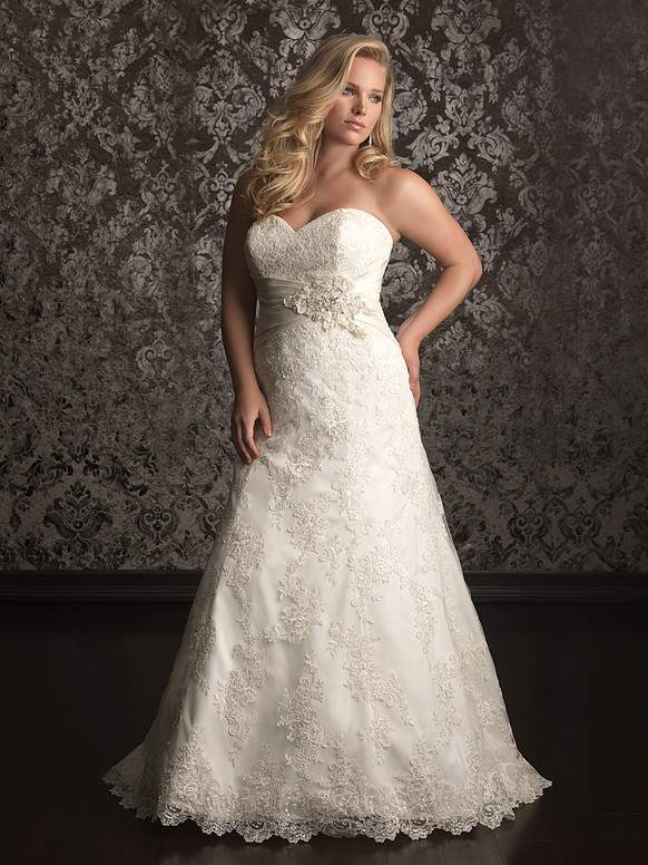 1c360709760 12 Plus Size Bridal Boutiques JUST For The Plus Size Bride to Be!