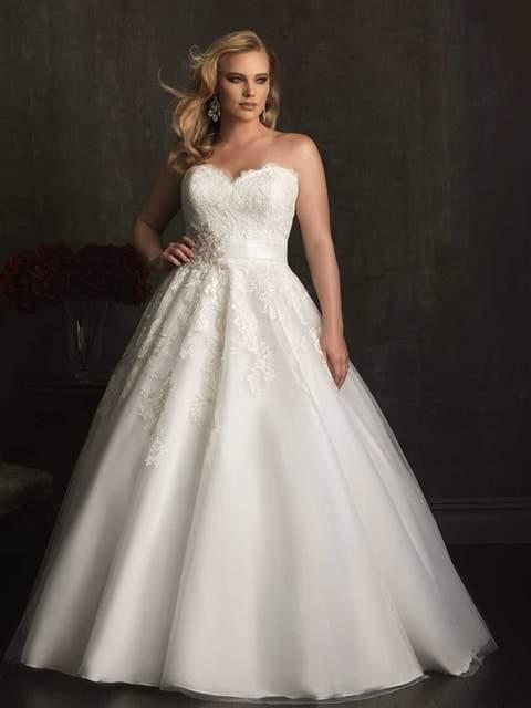 Curvaceous Couture Allure Bridal Lace