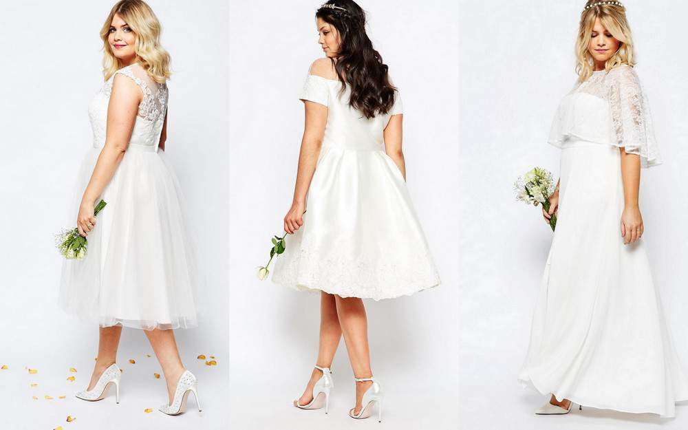 ASOS Curve plus size bridal collection