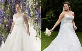 12 Plus Size Bridal Boutiques JUST For The Plus Size Bride to Be!