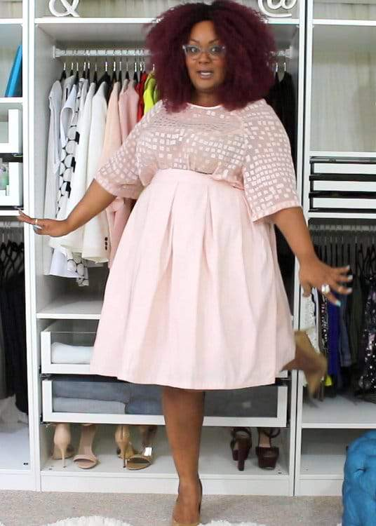 The Curvy Fashionista Marie Denee Video- Closet Confessions