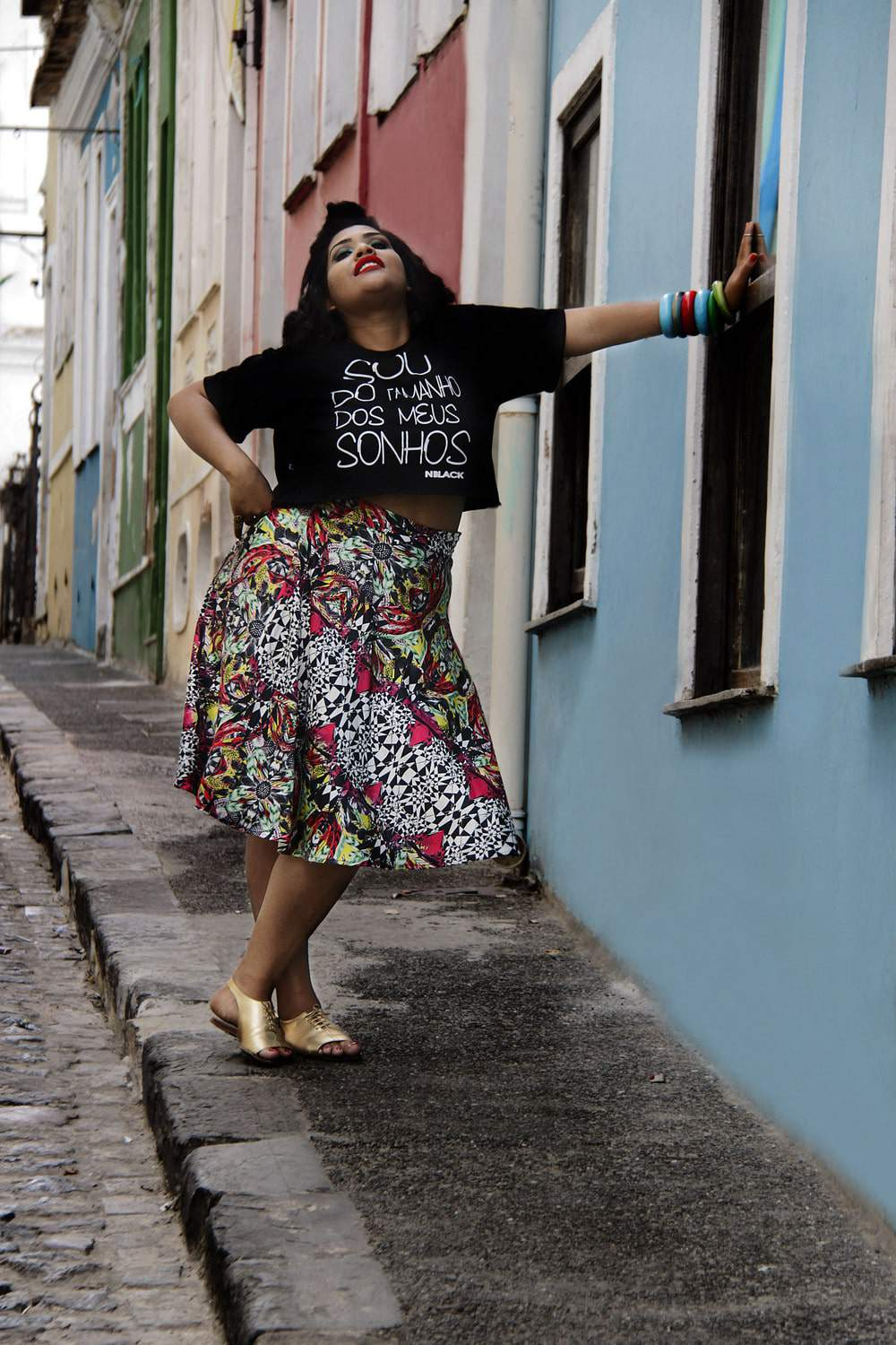 Gorda Flora- Brazilian Plus Size Fashion Editorial