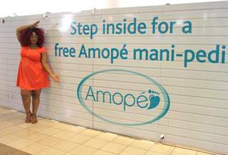 Around Atlanta: My Time at the Lenox Mall Amope Beauty Boutique
