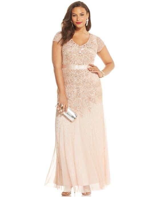 Plus Size Prom Dresses Macys Plus Size Prom Dresses