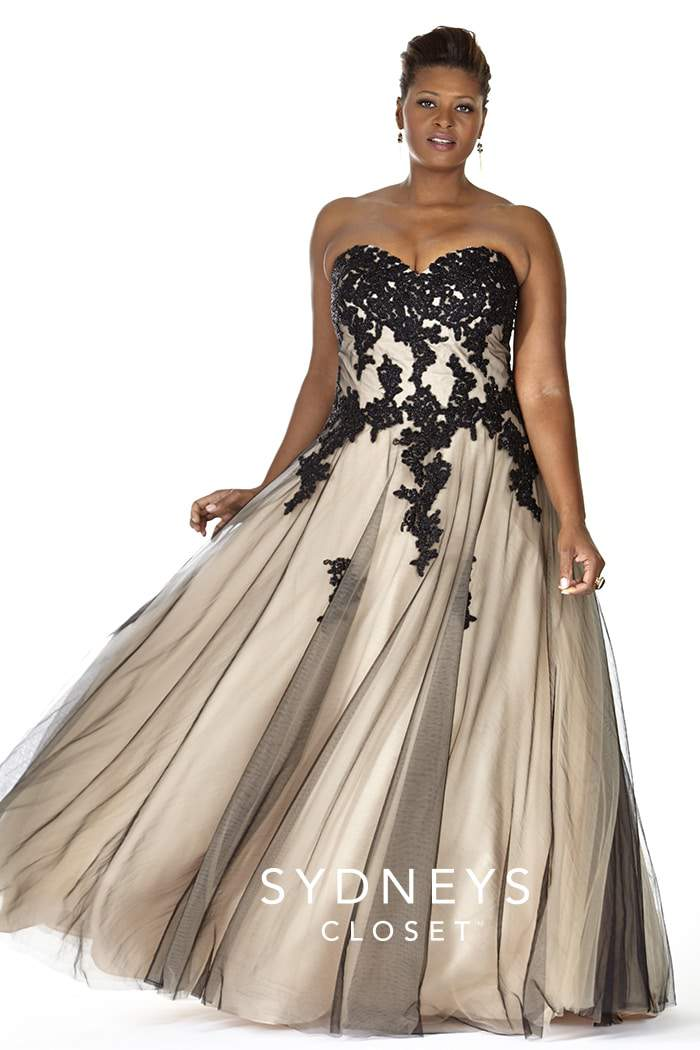 15 plus size prom dresses on trend for 2016 for Plus size dresses weddings and proms