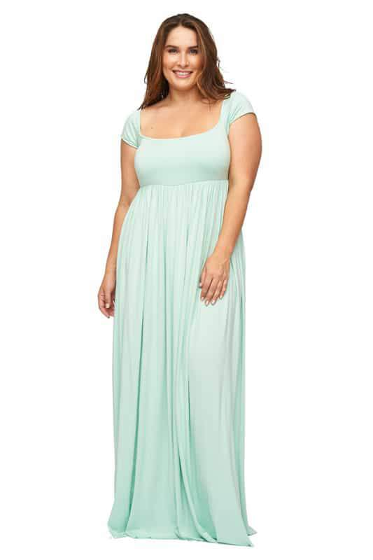 Cap Sleeve Isa Dress at RachelPally
