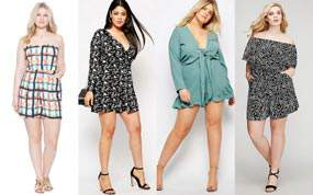 Looking for a few great plus size outfits? Check out these 11 Plus Size Rompers
