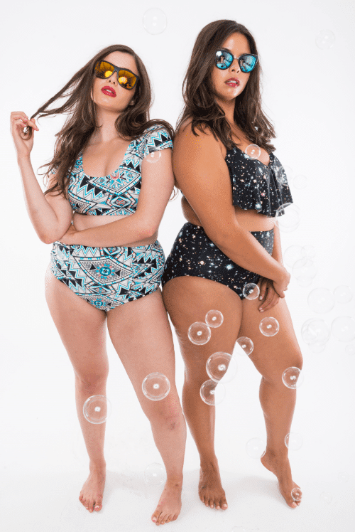 Moxi Blu Plus-Size Swimsuit