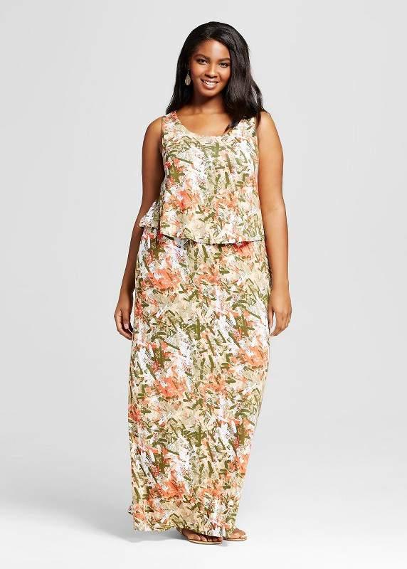 Sleeveless Popover Maxi Dress 2