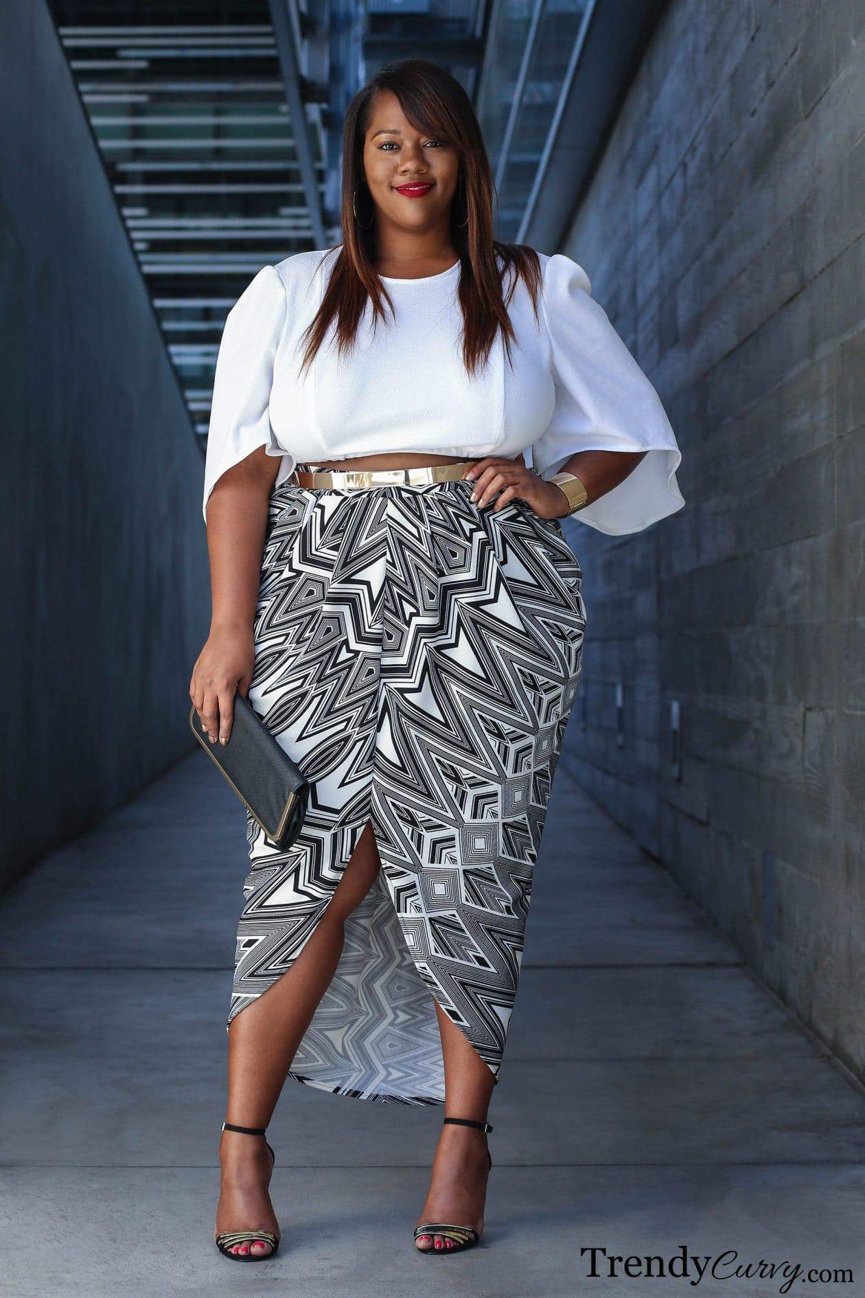 Trendy Fashionable 11 13 Year Old Ethnic Multi Cultural: Fashion Blogger Spotlight: Kristine Of TrendyCurvy