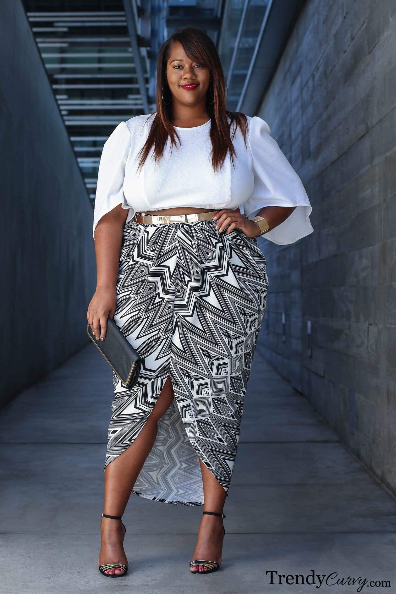 Fashion Blogger Spotlight Kristine Of Trendycurvy