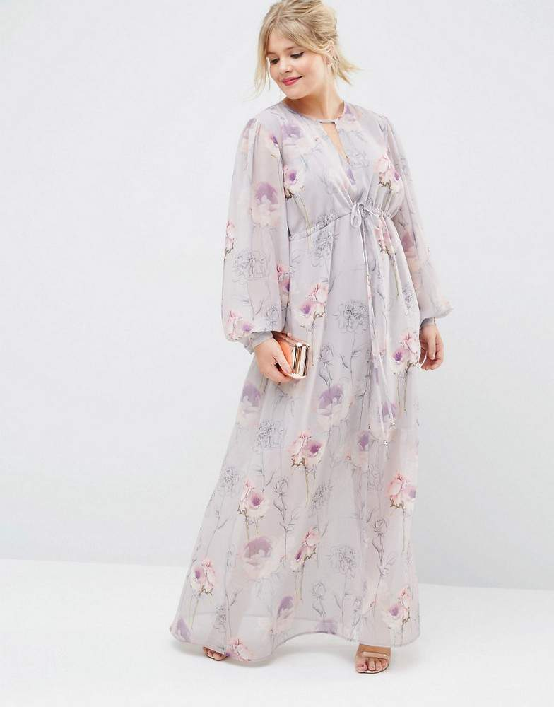 Plus Size Summer Essentials- ASOS Curve Maxi Dress