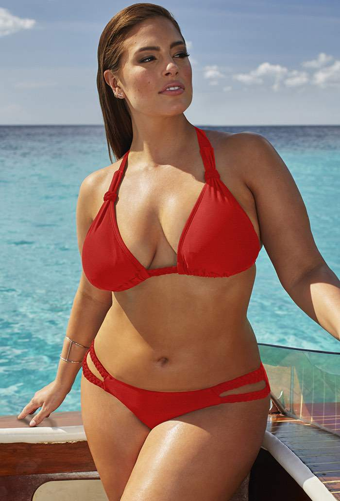 Ashley Graham Siren Bikini